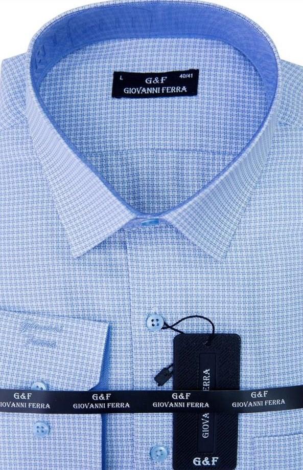 e63e35518b4 Купить Мужская сорочка полуприталенная 1270 с примеркой