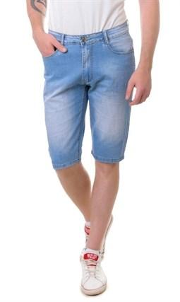Бриджи джинсовые мужские A2107 - фото 10082