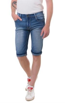 Бриджи джинсовые мужские Fing Lin FL 8166 - фото 10088