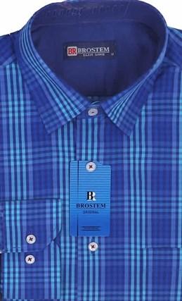 Мужская рубашка большого размера BROSTEM K6-263-G - фото 10120