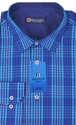 Мужская рубашка большого размера BROSTEM K6-273-G - фото 10122