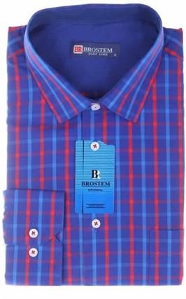 Большая мужская рубашка BROSTEM K6-311g - фото 10131