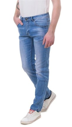 Джинсы зауженные мужские Porosus P5162 - фото 10174