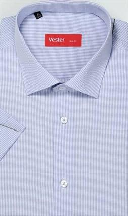 Большая сиреневая сорочка короткий рукав VESTER 729141-09 - фото 10204