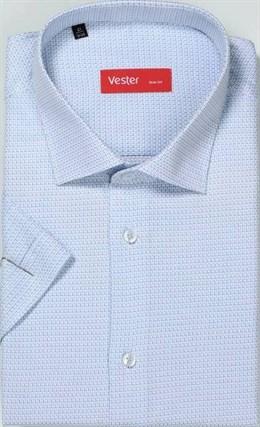 Большая р.51 сорочка короткий рукав VESTER 729141-05 - фото 10209