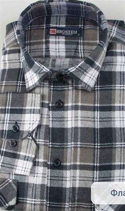 Байковая рубашка 100% хлопок BROSTEM F-201(F11313-3) - фото 10266