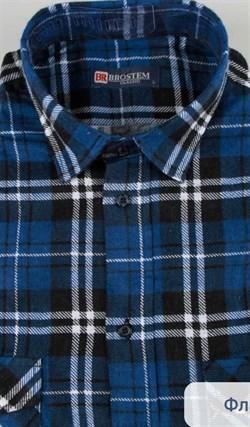 Фланелевая рубашка 100% хлопок BROSTEM F-204 - фото 10268