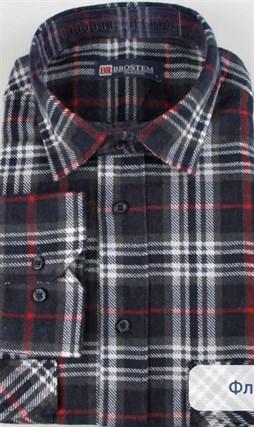 Байковая рубашка 100% хлопок BROSTEM F207 - фото 10272