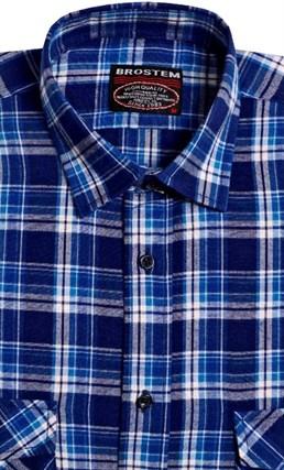 Большая фланелевая рубашка BROSTEM KA302g - фото 10319