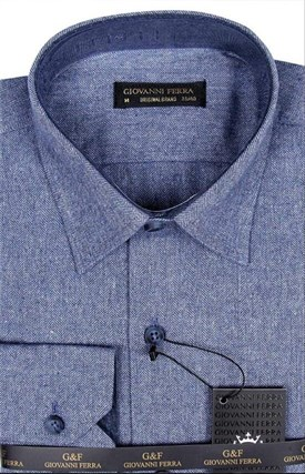 Фланелевая рубашка шерсть/хлопок AY 795-1 - фото 10330