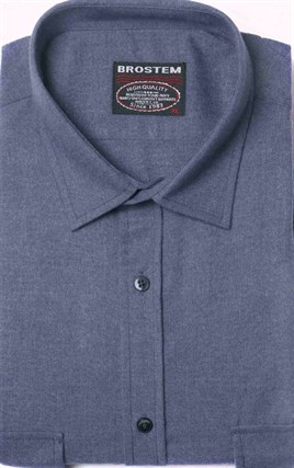 Фланелевая рубашка шерсть/хлопок Brostem KA2203-9 - фото 10332