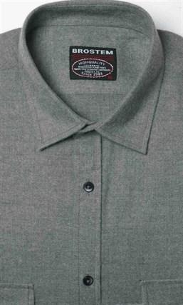 Фланелевая рубашка шерсть/хлопок Brostem KA2203-7 - фото 10336