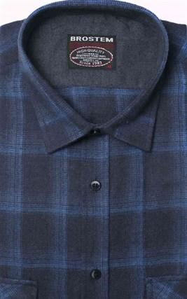 Фланелевая рубашка хлопок/шерсть BROSTEM KA6 - фото 10352