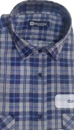 Фланелевая рубашка 100% хлопок BROSTEM F-203(F17111018-3 ) - фото 10371
