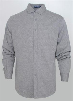 Трикотажная приталенная рубашка BROSTEM 0515-2 - фото 10381