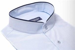 Полуприталенная со стойкой рубашка BROSTEM 9LBR87+1* - фото 10396