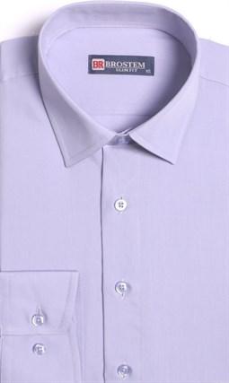 Прямая мужская рубашка BROSTEM CVC 50 - фото 10448