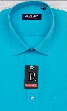 Прямая мужская рубашка BROSTEM CVC 59 - фото 10454