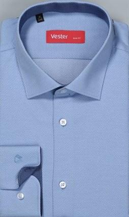 Рубашка мужская р.43/182-188 приталенная VESTER 93014-70-20 - фото 10485