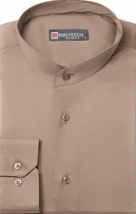 Приталенная со стойкой рубашка BROSTEM 8LBR86+1 - фото 10508