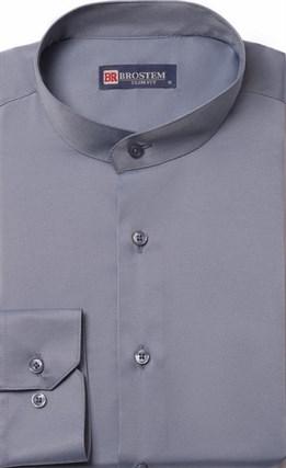 Приталенная со стойкой рубашка BROSTEM 9LBR86+4 - фото 10512