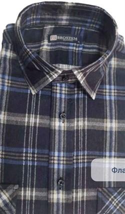 Байковая рубашка 100% хлопок BROSTEM F209 - фото 10522