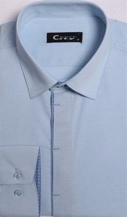 Приталенная рубашка стрейч CITY RACE 8LCR25-2 - фото 10526