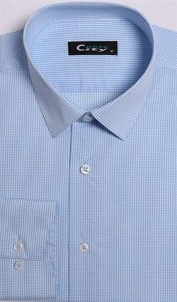 Приталенная рубашка стрейч CITY RACE 8LCR41-2 - фото 10530