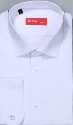 На высоких белая рубашка VESTER 707142-14-01 - фото 10540