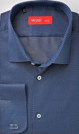 Рубашка приталенная VESTER 70714-04sp-20 - фото 10544