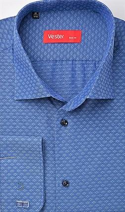 Рубашка приталенная VESTER 70714-08sp-20 - фото 10549