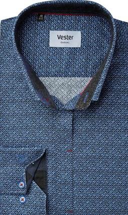Рубашка с эластаном приталенная VESTER 22018-02sp-20 - фото 10582