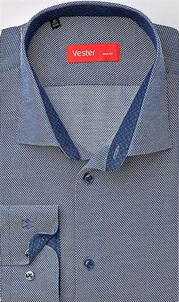 Рубашка приталенная VESTER 93014-01sp-20 - фото 10588