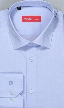 Рубашка NON-IRON 100% хлопок VESTER 18816-19-20 - фото 10612