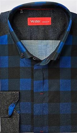 Рубашка с эластаном VESTER 21918-06sp-20 - фото 10658