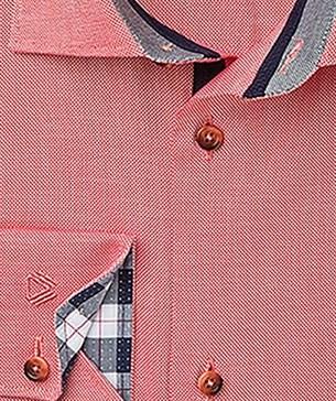 Рубашка розовая приталенная VESTER 21514-84sp-20 - фото 10672