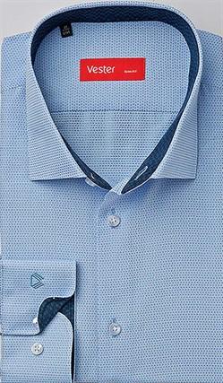 Рубашка приталенная VESTER 93014-17sp-20 - фото 10715