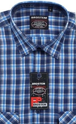 100% хлопок большая рубашка SH662g (SH660-1g) - фото 10726