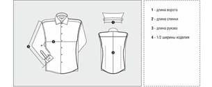 Приталенная сорочка ELITE 68412-30 - фото 10771