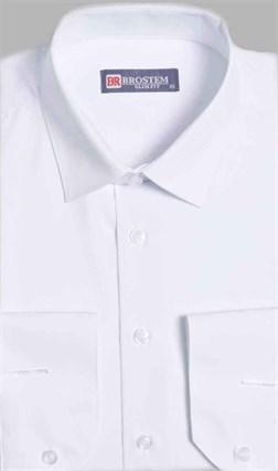 Приталенная рубашка с модалом 4701A** - фото 10798
