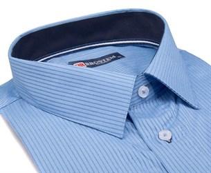 Большая мужская рубашка с коротким рукавом 1SG60-4sg - фото 10828