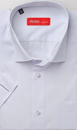Рубашка прямая белая VESTER 70214-55sp-20 - фото 10832