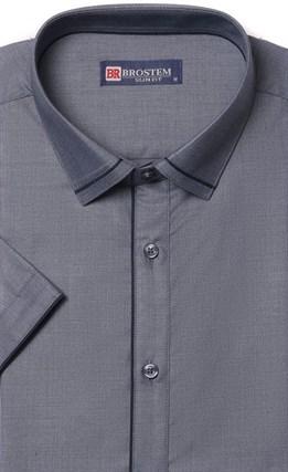Приталенная с модалом рубашка BROSTEM 1SBR008-1 - фото 10925