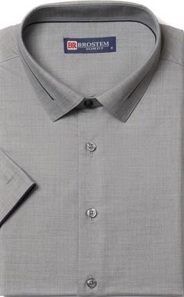 Приталенная с модалом рубашка BROSTEM 1SBR009-5 - фото 10931