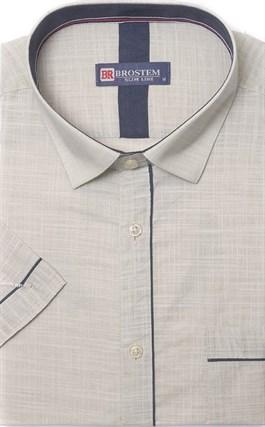 Мягкая летняя рубашка короткий рукав BROSTEM 1SBR039-3s* - фото 10963