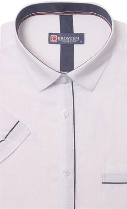 Мягкая летняя полуприталенная рубашка BROSTEM 1SBR039-4s* - фото 10965