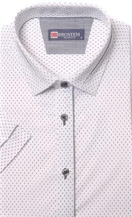 Хлопковая приталенная рубашка BROSTEM 1SBR085-2s** - фото 10971