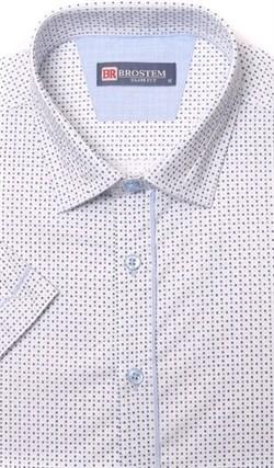 Хлопковая приталенная рубашка BROSTEM 1SBR085-3s - фото 10973