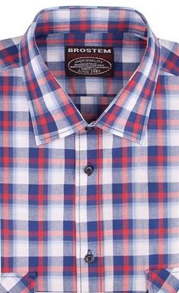 100% хлопок рубашка мужская Brostem SH650-1s - фото 10995