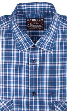 100% хлопок рубашка мужская Brostem SH654-2s - фото 10997